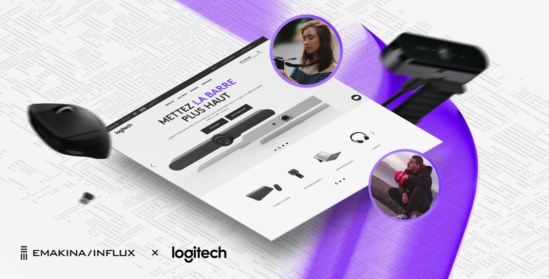 Emakina/Influx créateur de contenus pour Logitech en 2021