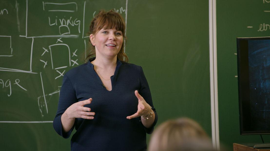 Siska Schoeters - De klas (c) VRT