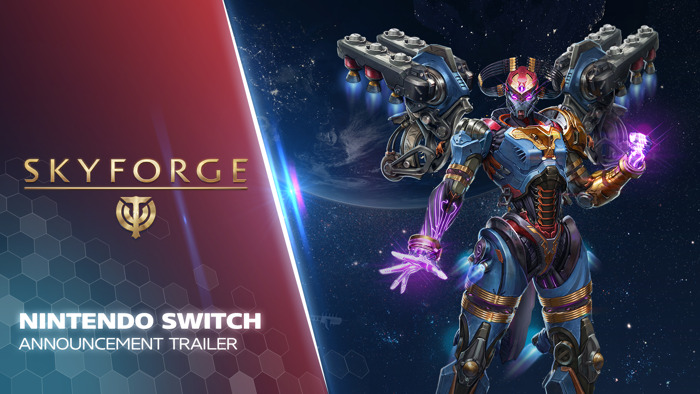 SKYFORGE COMING TO NINTENDO SWITCH IN FALL 2020