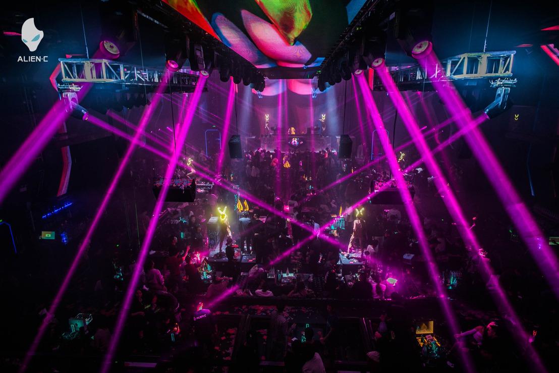 PK Sound Loudspeakers Power Electronic Music Mega-Nightclub in Yinchuan, China