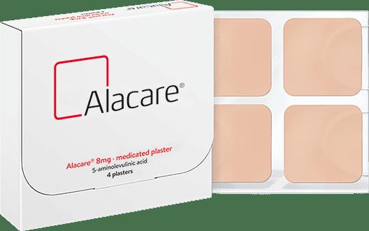 Alacare medicated plaster packshot