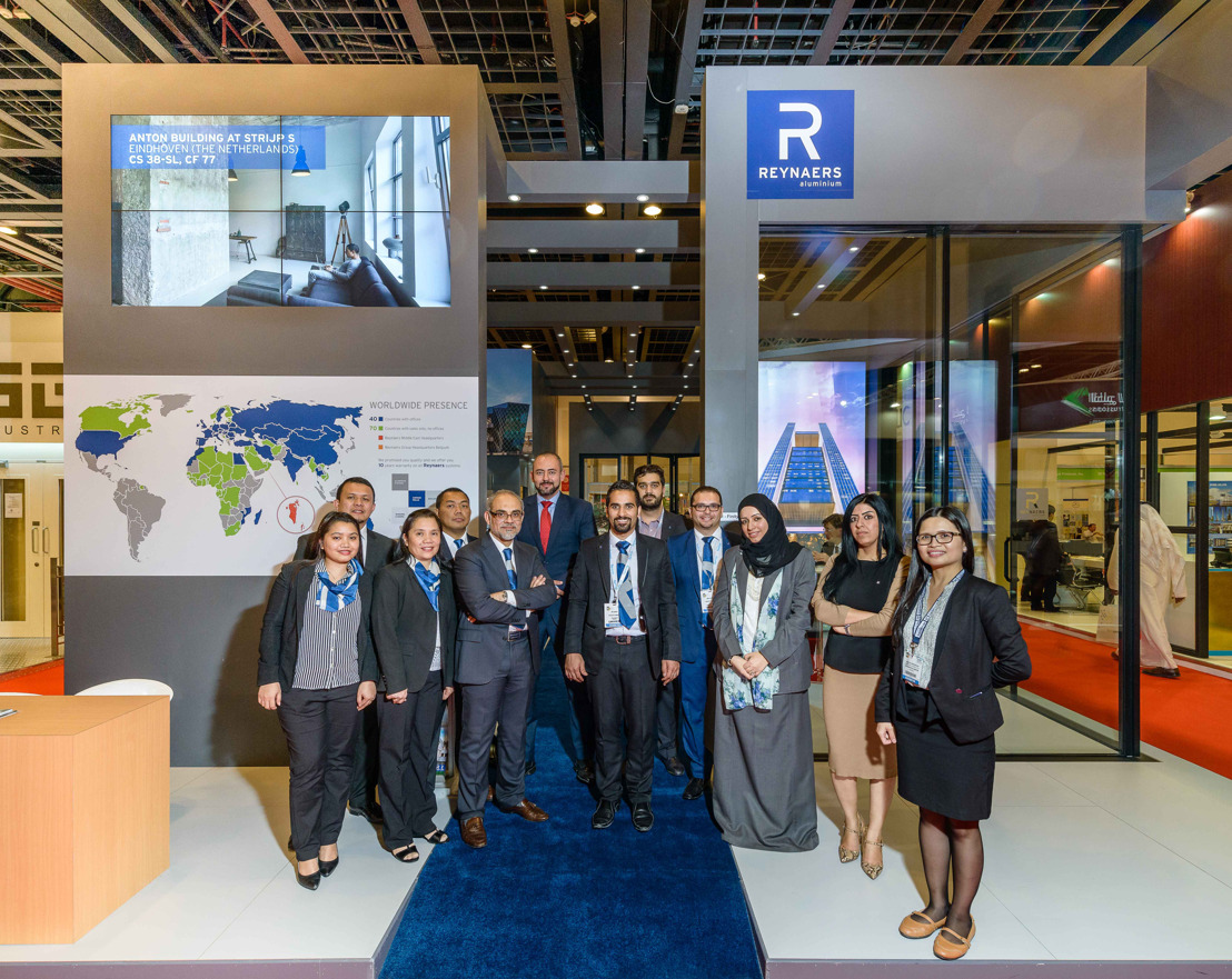 Reynaers Middle East present at The Big 5 trade fair