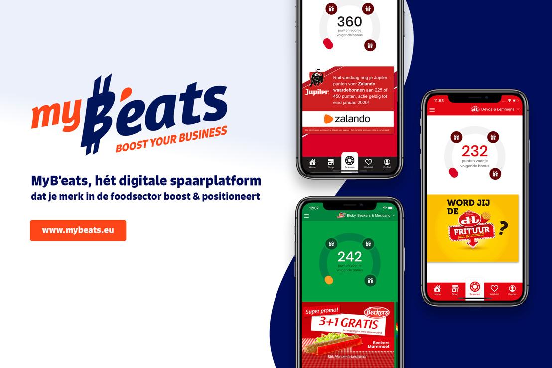 Nieuwe joint venture MyB'eats lanceert digitaal platform voor voedingsmarkt