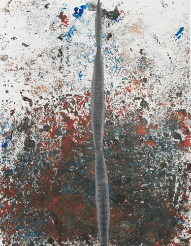 Xavier Hufkens presents a two-venue exhibition of new paintings and collages by Sterling Ruby