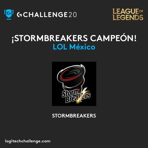 STORMBREAKERS, el nuevo campeón nacional de League of Legends en el Logitech G Challenge 2020