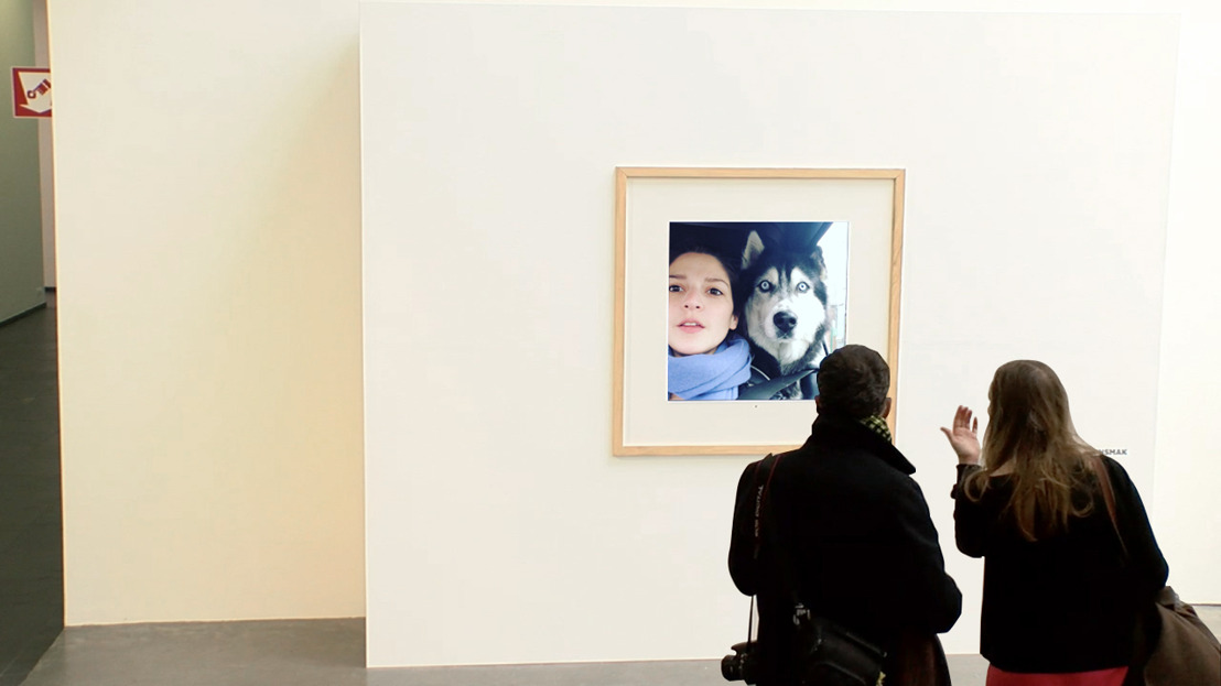 See your Instagram picture appear live in the same museum as Andy Warhol, Francis Bacon and Marina Abramovic.