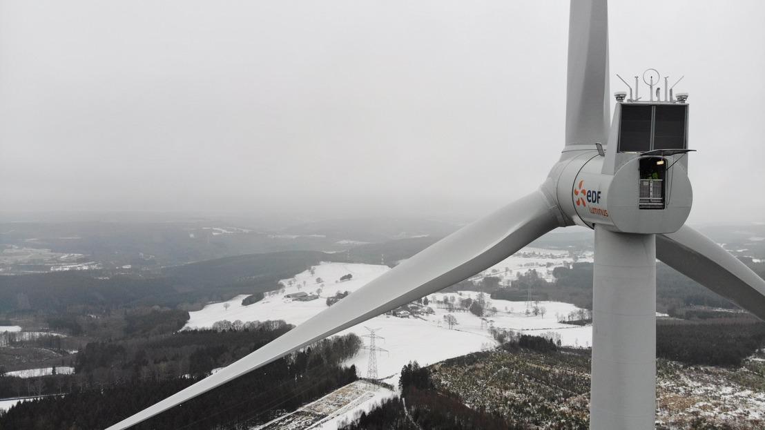 Une première en Belgique : un parc éolien en zone d'exploitation forestière contribue à un plus grand respect de la nature