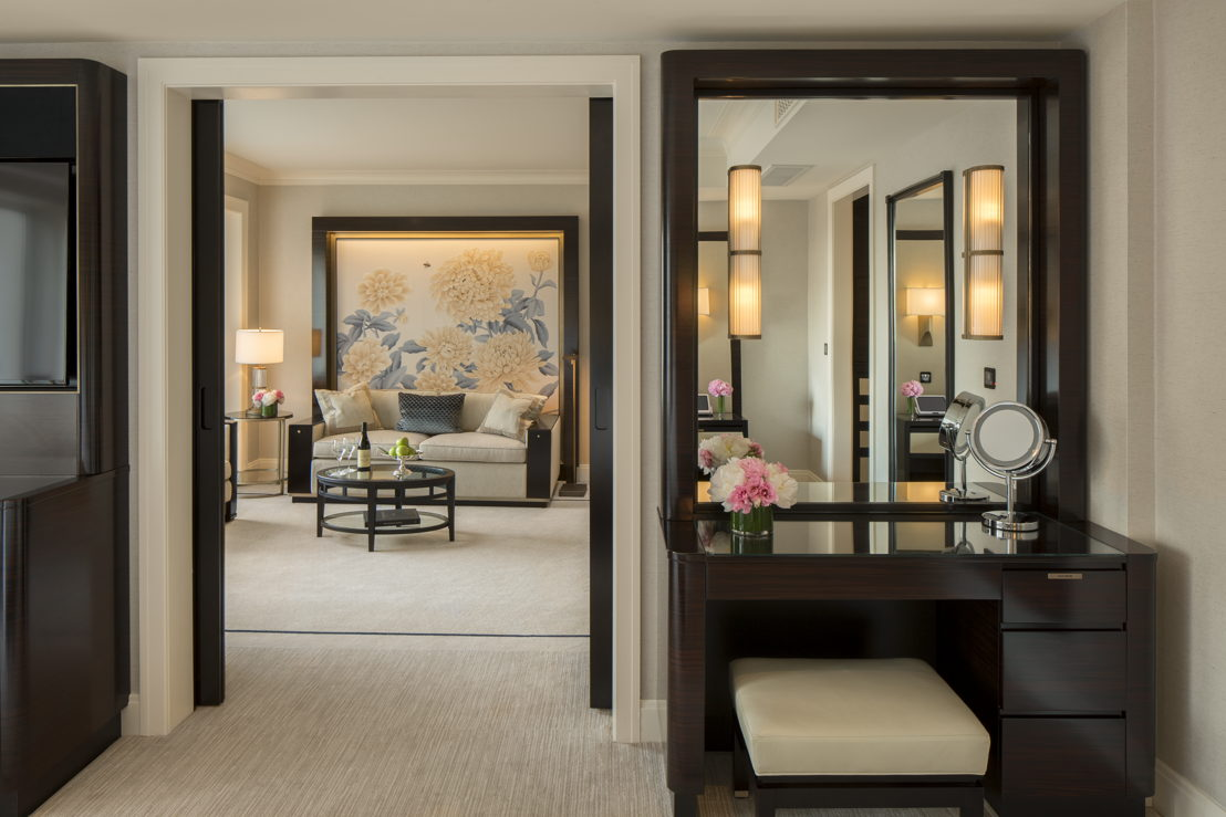 Premier Deluxe Suite Dressing Area The Peninsula Chicago