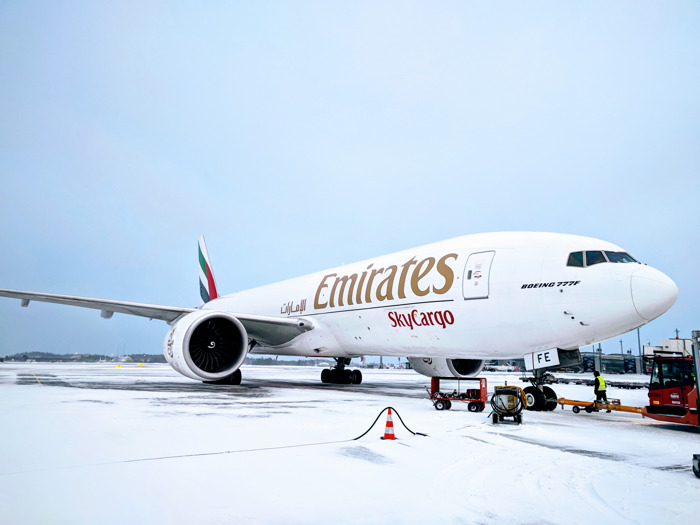 Emirates SkyCargo marks two years of freighter operations to Oslo