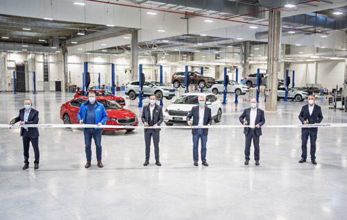ŠKODA AUTO opens state-of-the-art new Central Pilot Hall at its Mladá Boleslav site