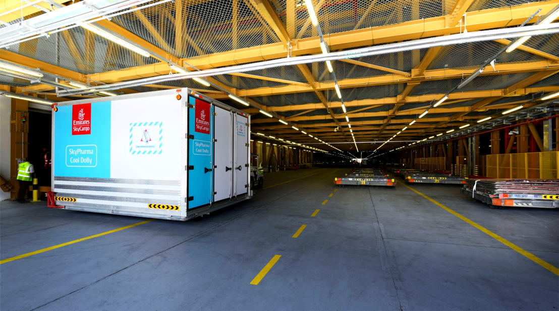 Emirates SkyCargo operates first and largest GDP certified multi-airport hub.
