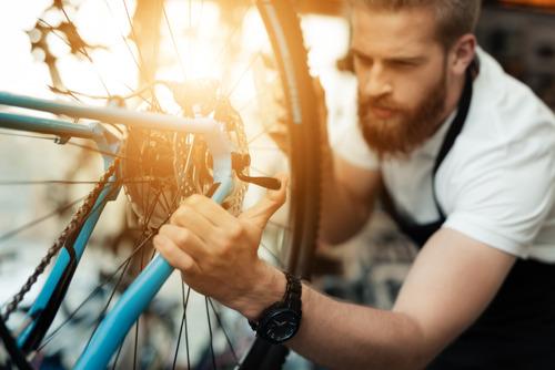Onderhoud van de fiets