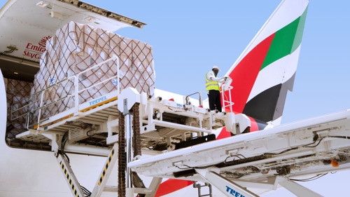 Emirates SkyCargo transported close to a quarter of Sri Lanka's total air exports in 2017-18