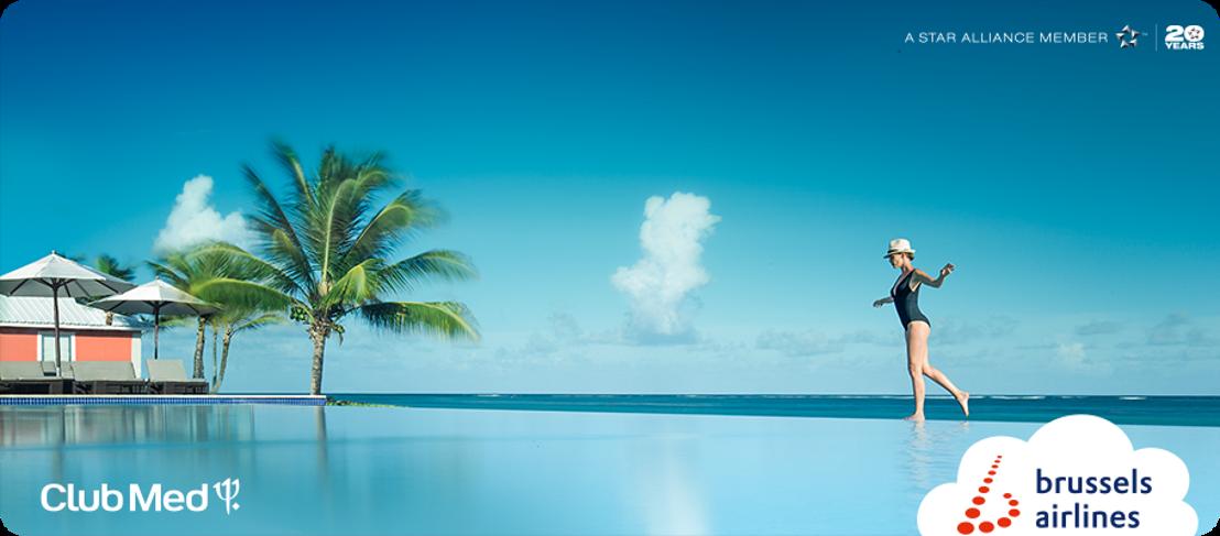 Brussels Airlines verlengt samenwerking met Club Med