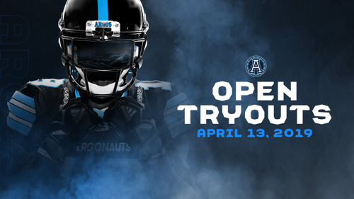 ARGOS TO HOST OPEN TRYOUT APRIL 13-14 IN FLORIDA