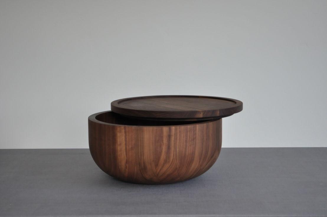 GR13 - Michael Verheyden - Busk bowl walnut - 1820 euro