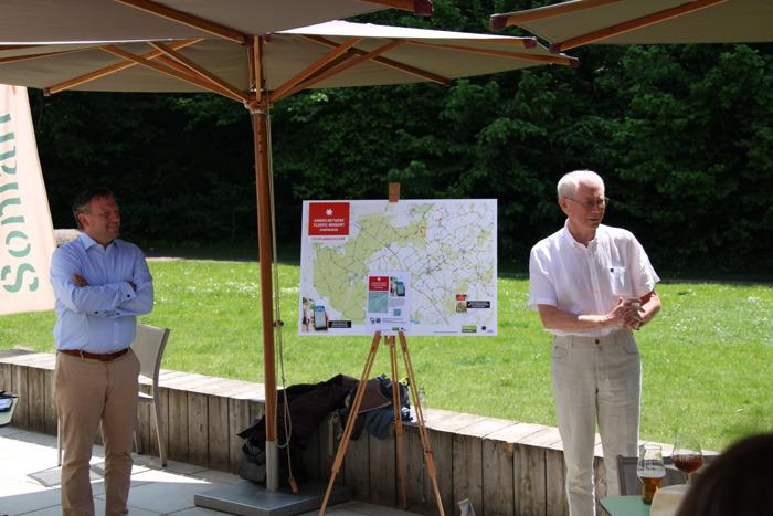 Grootste Vlaamse loofwoud virtueel ontsloten voor wandelaars