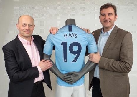 Hays en Manchester City verlengen partnerschap tot 2023