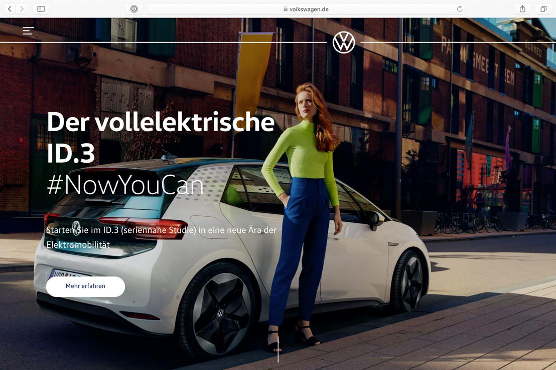 Merk Volkswagen lanceert nieuwe globale website