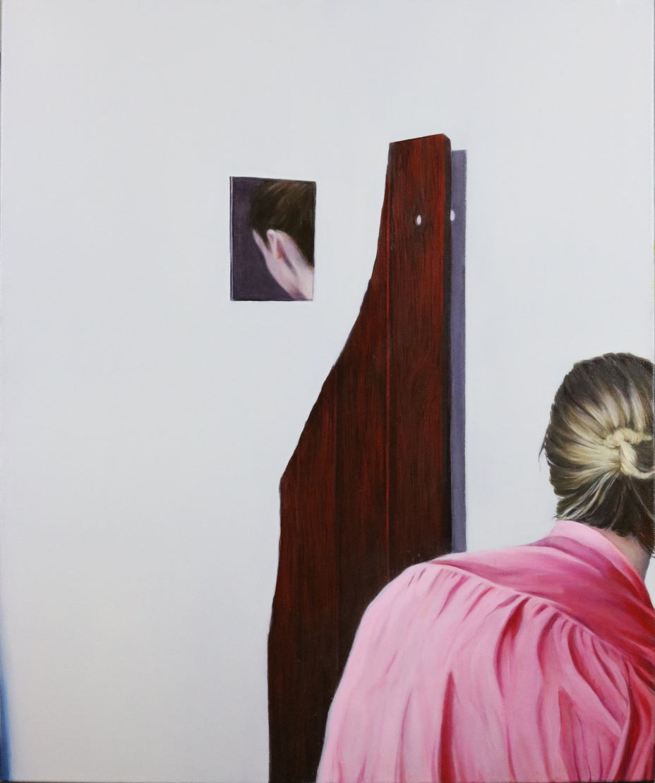 'La fille qui regarde', Charlotte Flamand, honorable mention