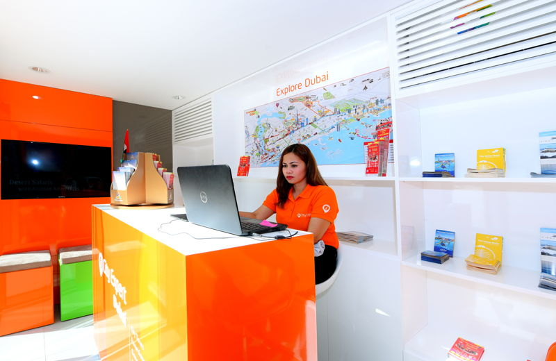 City Expert kiosk at Dubai's JBR