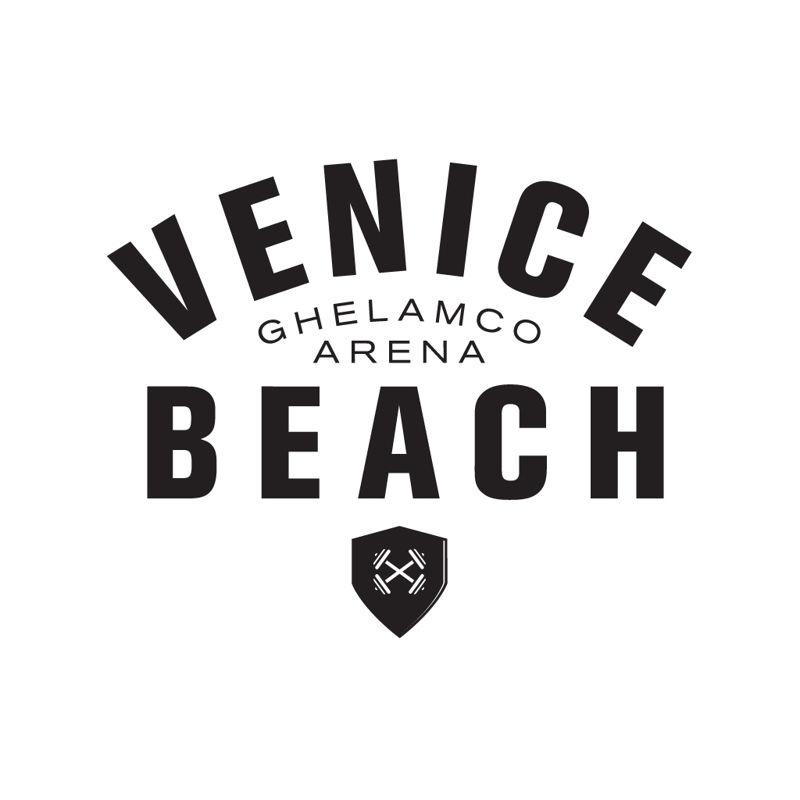 logo Venice Beach white