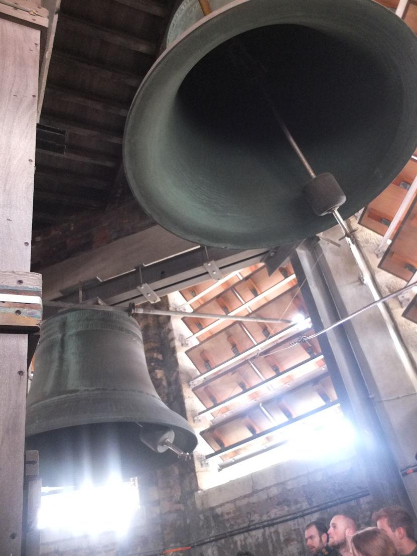 Klokken in de OLV-toren