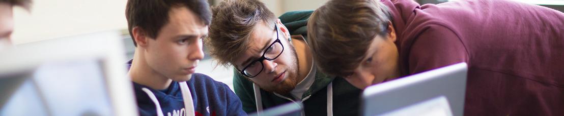 Studenten IT-Factory lossen met multidisciplinaire projecten problemen van bedrijven op