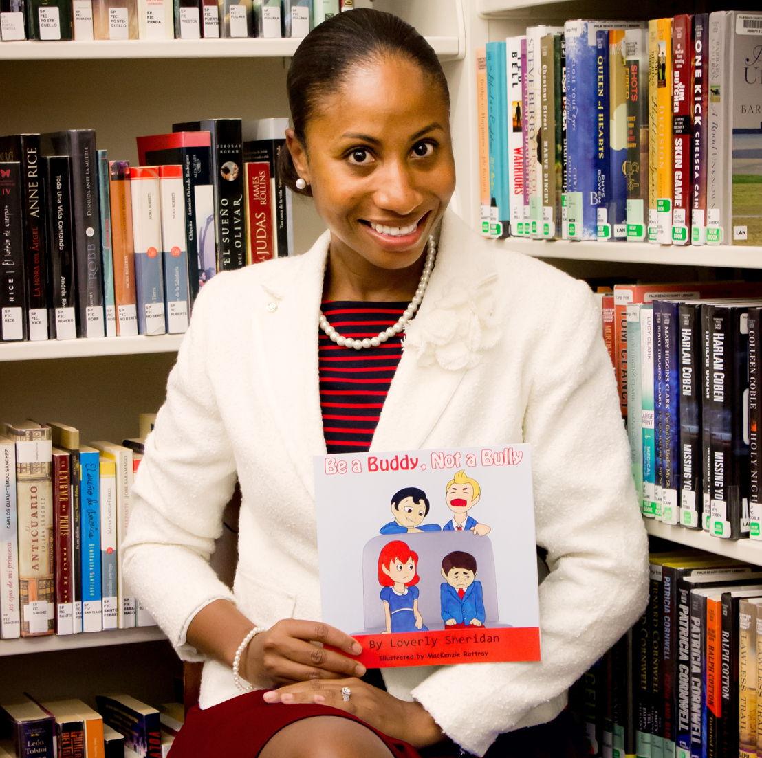 Loverly Sheridan, Saint Lucian author