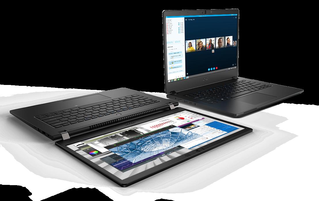 宏碁推出專為差旅頻繁的商務人士設計之TravelMate P6系列筆電兼顧輕薄、耐用、長效電力