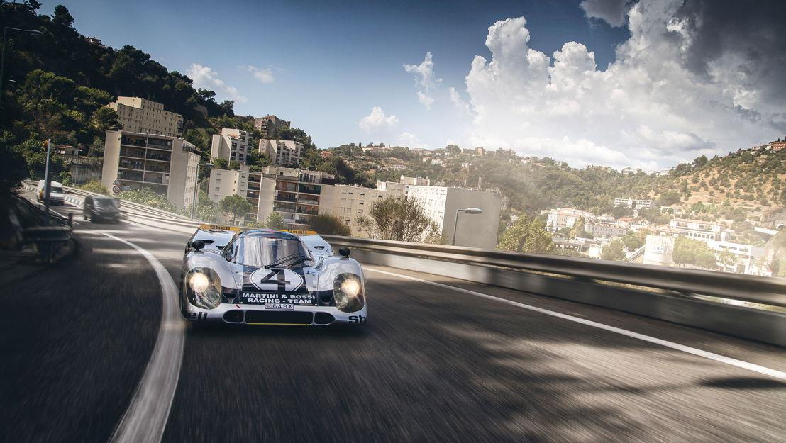 Legendario auto de carreras Porsche utilizado para uso diario - Recorriendo las calles de Mónaco en un Porsche 917