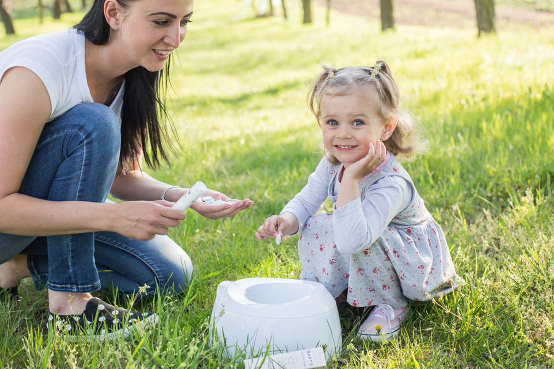 Successful Czech product Potty Tabs teaches children to use the potty