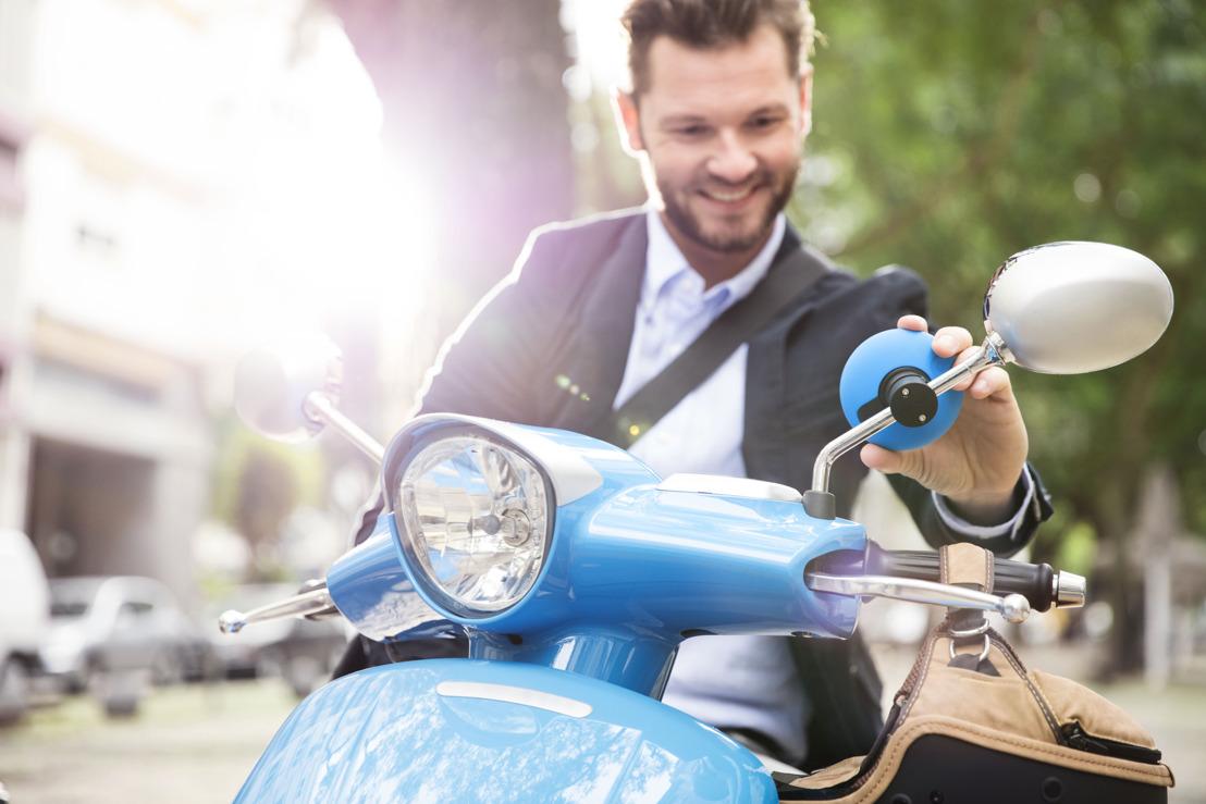 Nieuw motorscooternavigatiesysteem van TomTom combineert intelligente functionaliteit met oogstrelend design