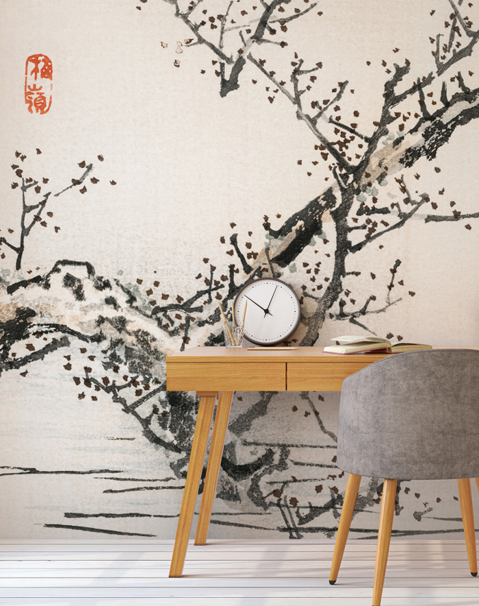 Oriental Wallpapers for Tranquil Spaces