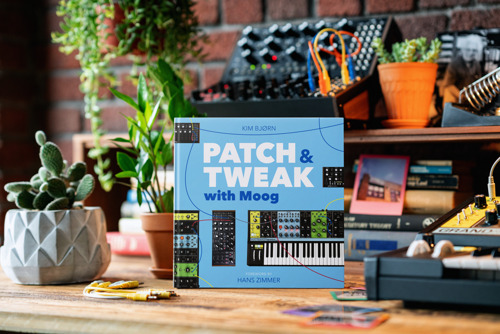 The Creators of PATCH & TWEAK Team up with Moog Music for New 200-Page Book on Semi-Modular Analog Synthesizers