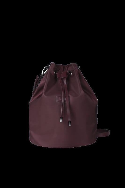 Lady Plume Bucket Bag Red Wine 69€