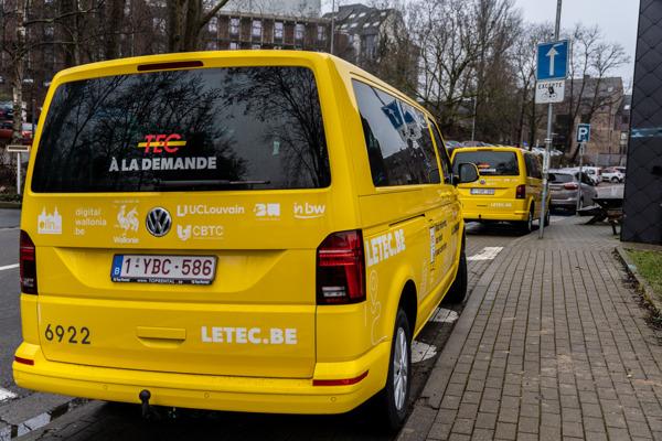 Preview: Le service TEC à la demande débute aujourd'hui à Louvain-la-Neuve !