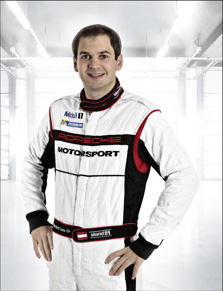 Porsche-Werksfahrer Richard Lietz (A)