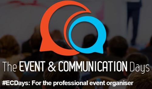 SAVE THE DATE : The Event & Communication Days aura lieu le 19 et le 20 avril à Gand