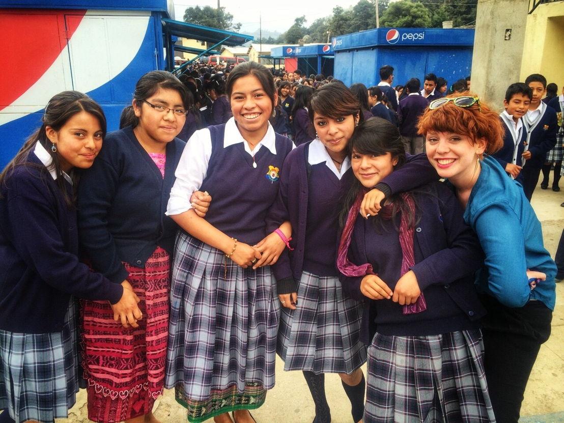 De Geonauten - Sien Wynants in Guatemala - (c) Geronimo/VRT
