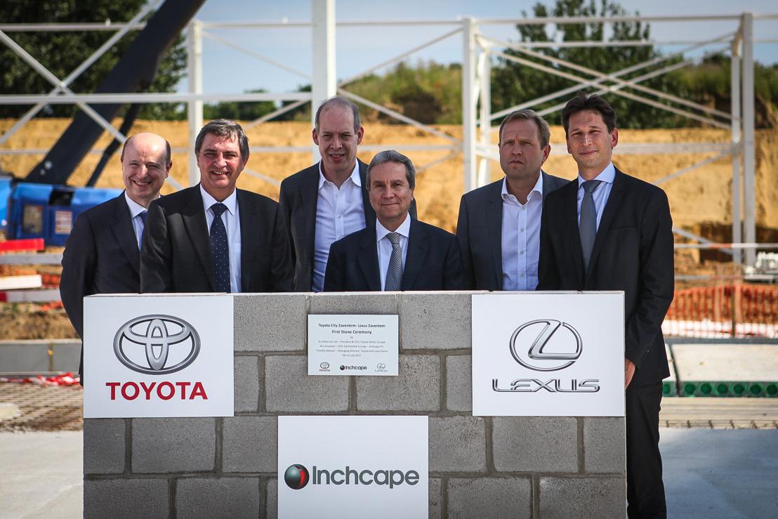 Toyota en Lexus bouwen gloednieuwe showrooms in Zaventem