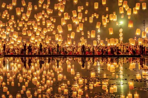 La Fête des Lumières en Thaïlande : l'une des plus belles célébrations d'Asie.