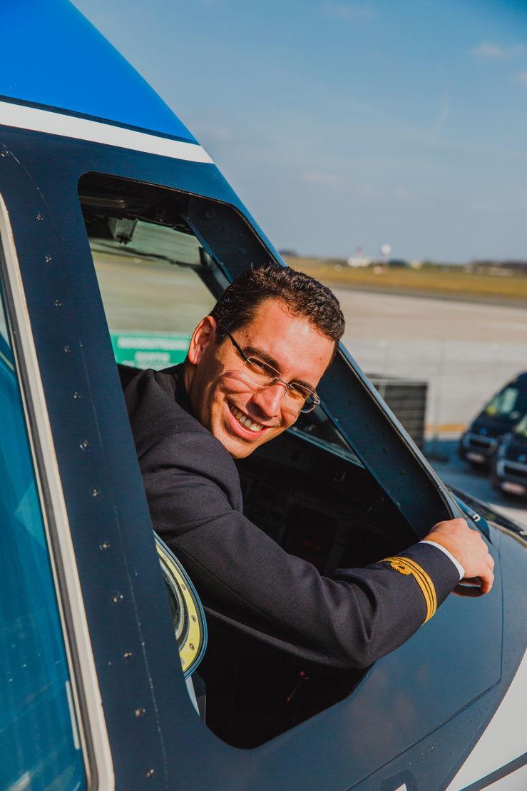 Lorenzo Mascellani, frère de Marta et Pilote chez Brussels Airlines