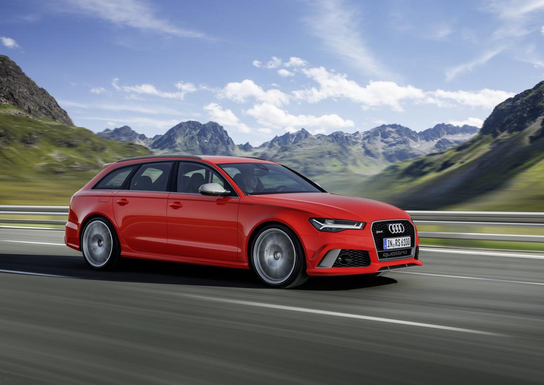 Un potentiel à la hausse : les nouvelles Audi RS 6 Avant performance et RS 7 Sportback performance