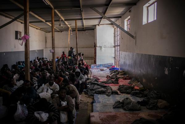 Preview: Libia: Miles de personas migrantes encarceladas tras cinco días de detenciones masivas