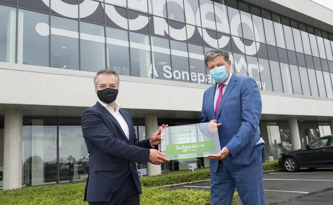 Schneider Electric versterkt service aan industrie dankzij partnerschap met Cebeo