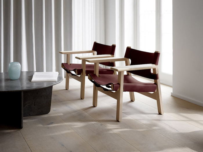 Limited Edition Fredericia Spanish Chair Lands At Great Dane