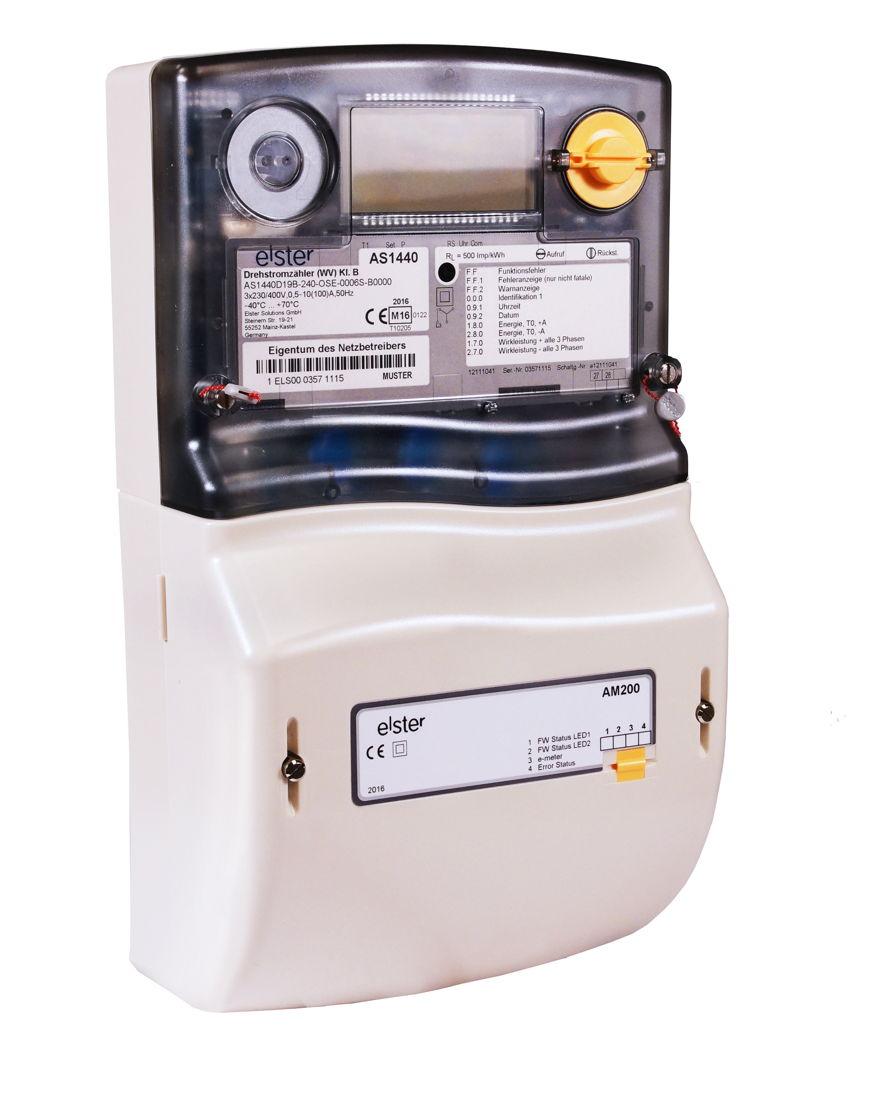 Die alten Zähler werden von e.optimum gegen die neuen, intelligenten Stromzähler ausgetauscht.