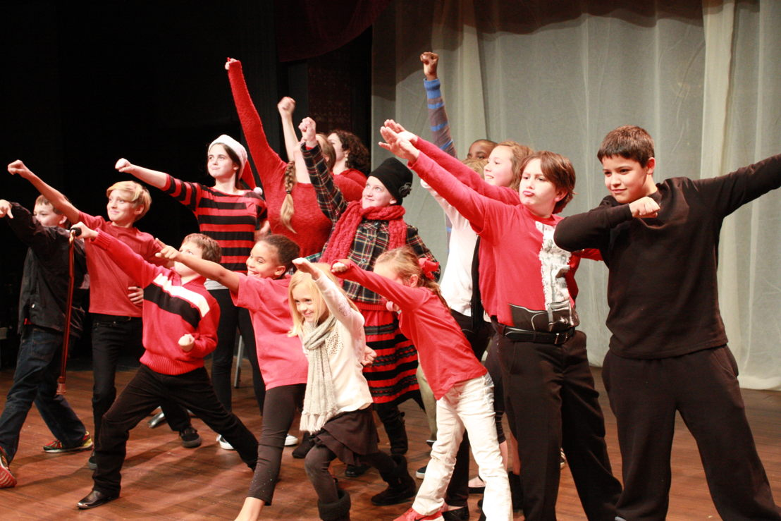 Holiday Play Class (photo credit to Aurora Theatre)