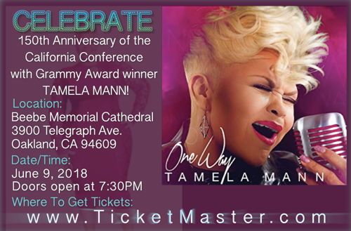 Preview: Gospel Legend Tamela Mann to Headline Western Episcopal District's California Conference 150th Anniversary